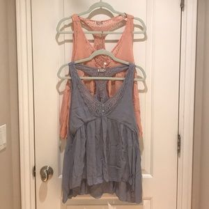 BOGO Intimately by Free People Flowy Tank Tops